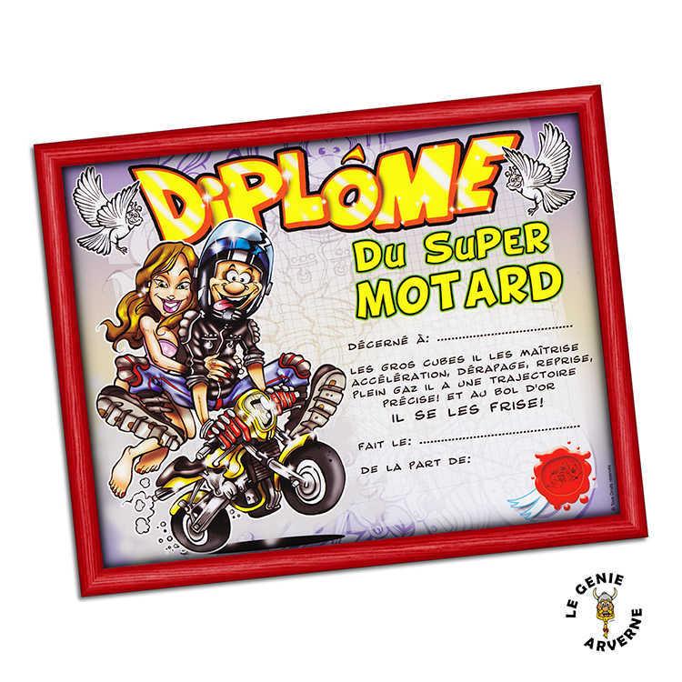 Dipl me du super motard - Image drole de motard ...