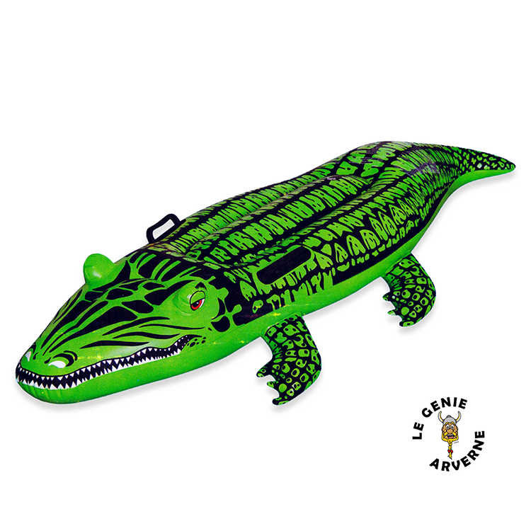 Crocodile gonflable - Piscine gonflable adulte le mans ...