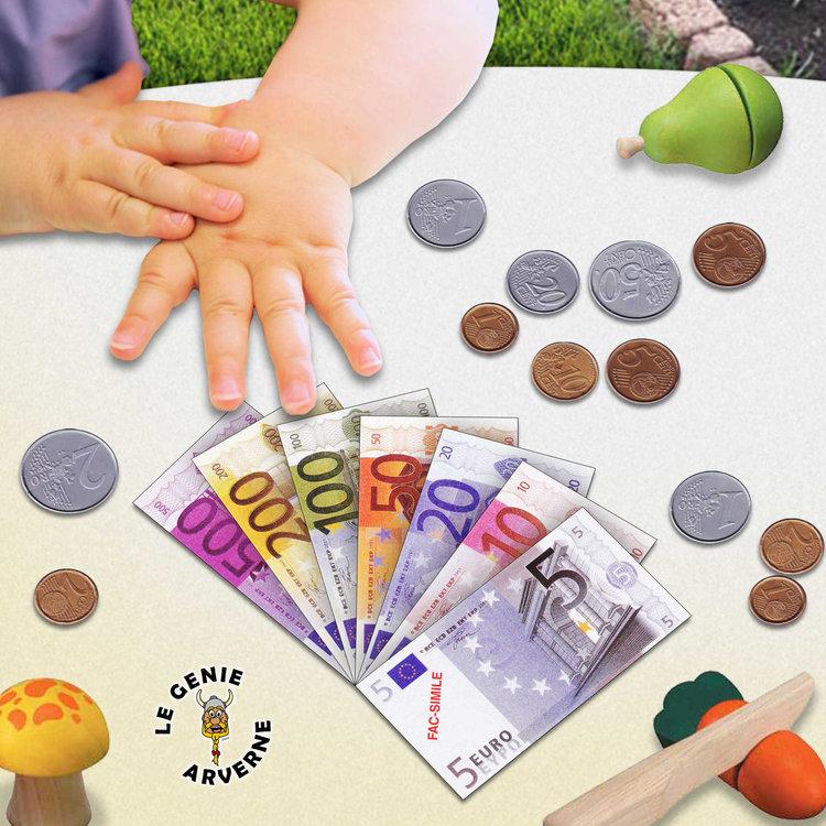 Jeu de monnaie euros - La marchande de couleur ...