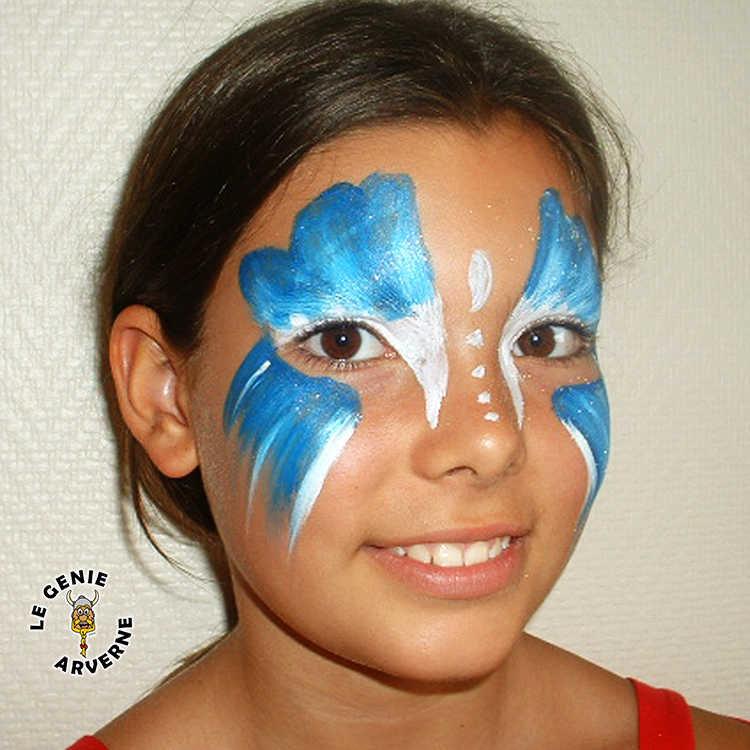 Bo te 6 crayons de maquillage paillettes - Maquillage deguisement visage ...