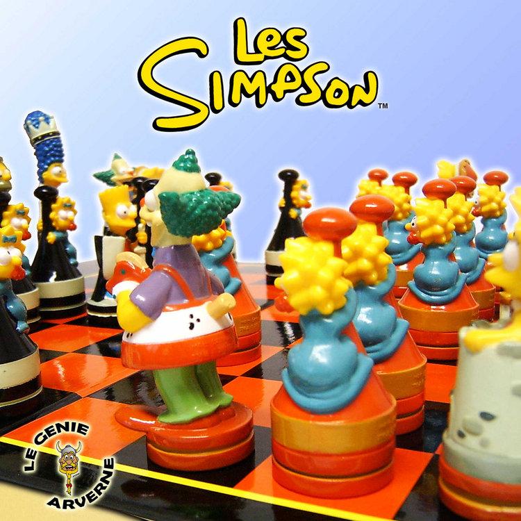 Jeu d 39 echecs simpson luxe - Simpson anniversaire ...