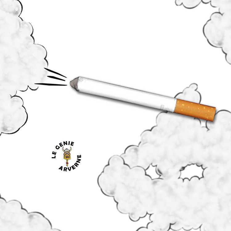 fausse cigarette avec fum e. Black Bedroom Furniture Sets. Home Design Ideas