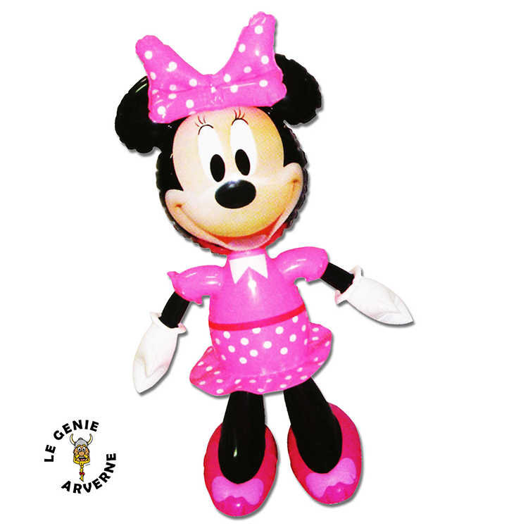 Personnage gonflable minnie - Dessins animes de mickey mouse ...