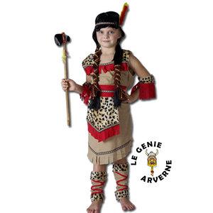 Costume indienne squaw enfant car interior design - Deguisement pocahontas femme ...