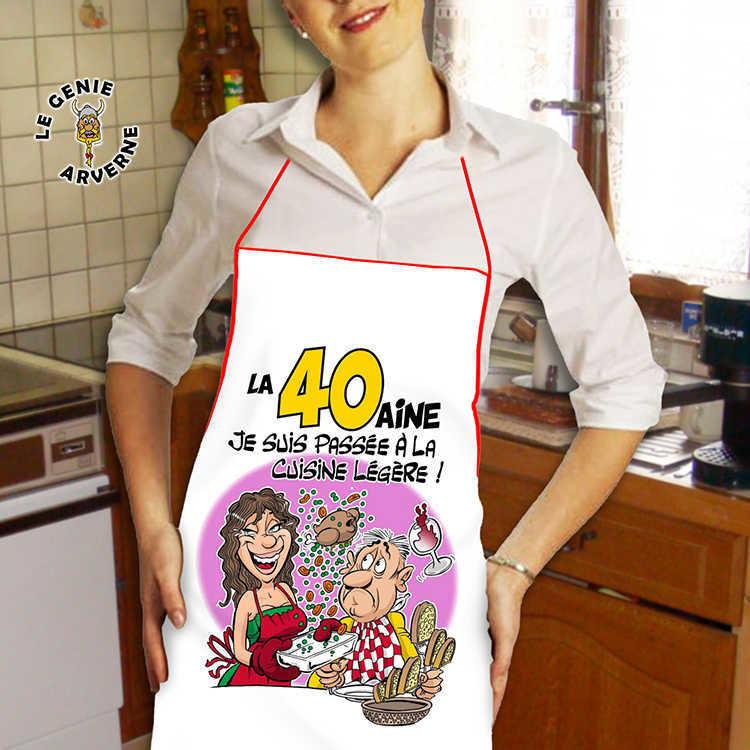 Tablier De Cuisine Femme 40 Aine