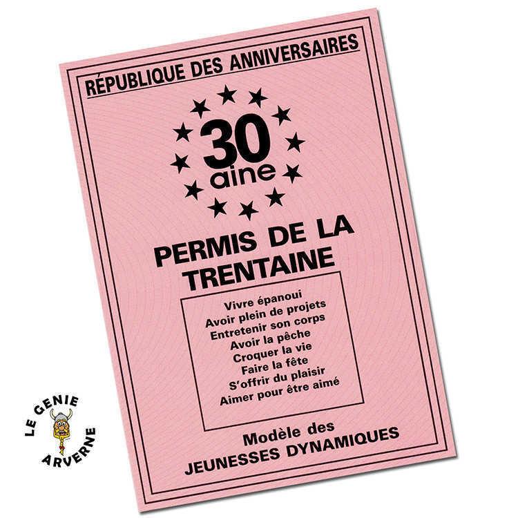 Permis De La 30 Aine