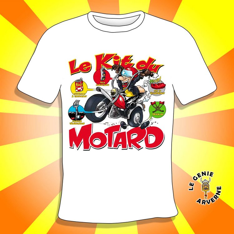 t shirt kit du motard. Black Bedroom Furniture Sets. Home Design Ideas