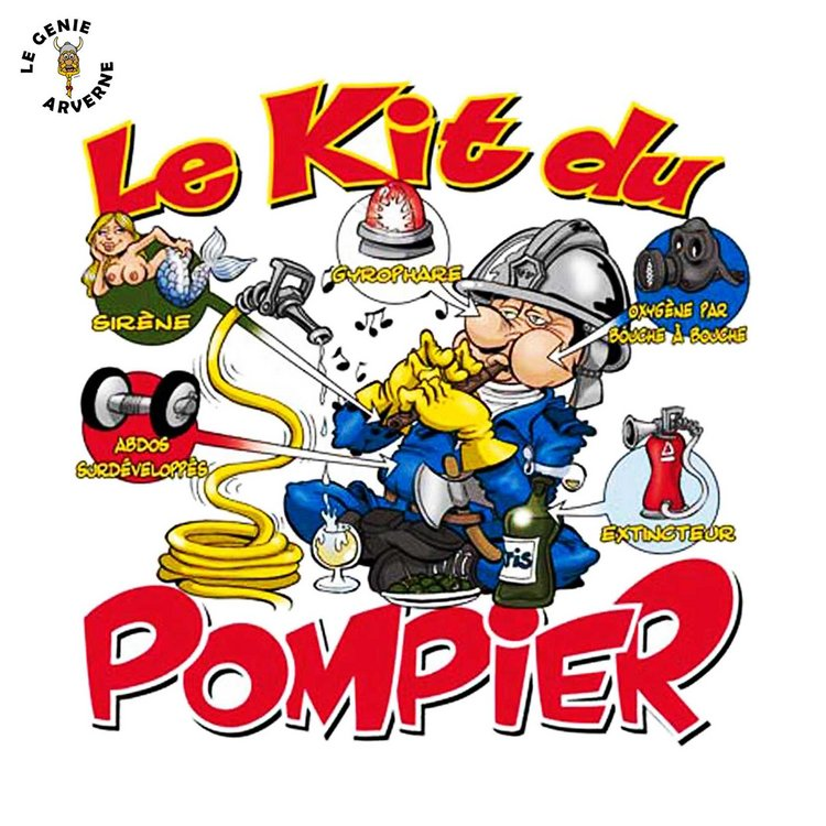 Favorit T-Shirt Kit du Pompier OS53