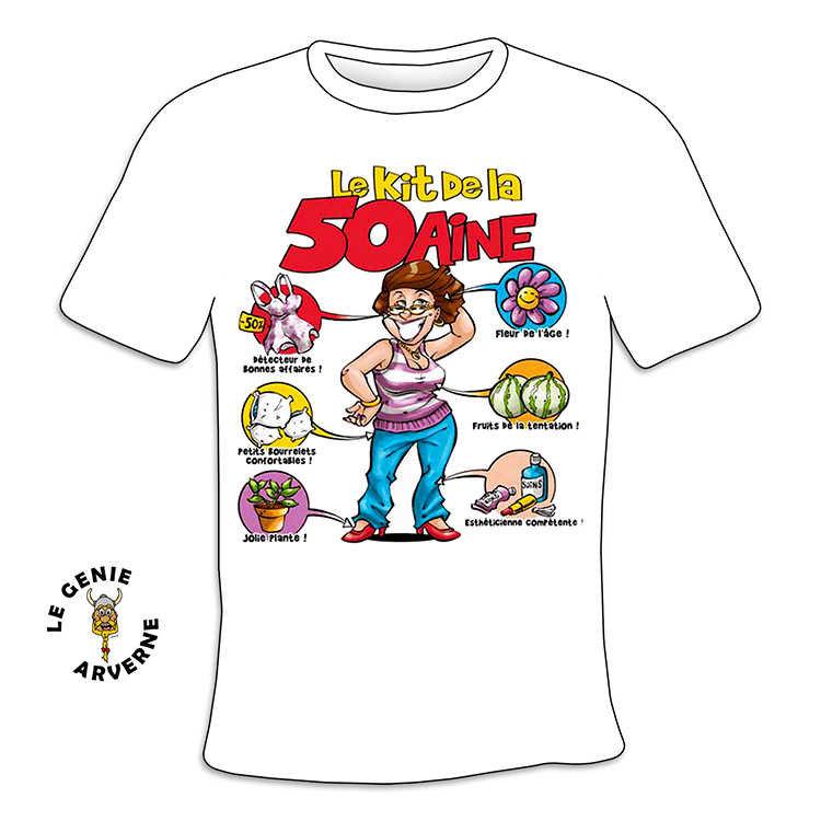 T Shirt Femme Kit 50 Aine