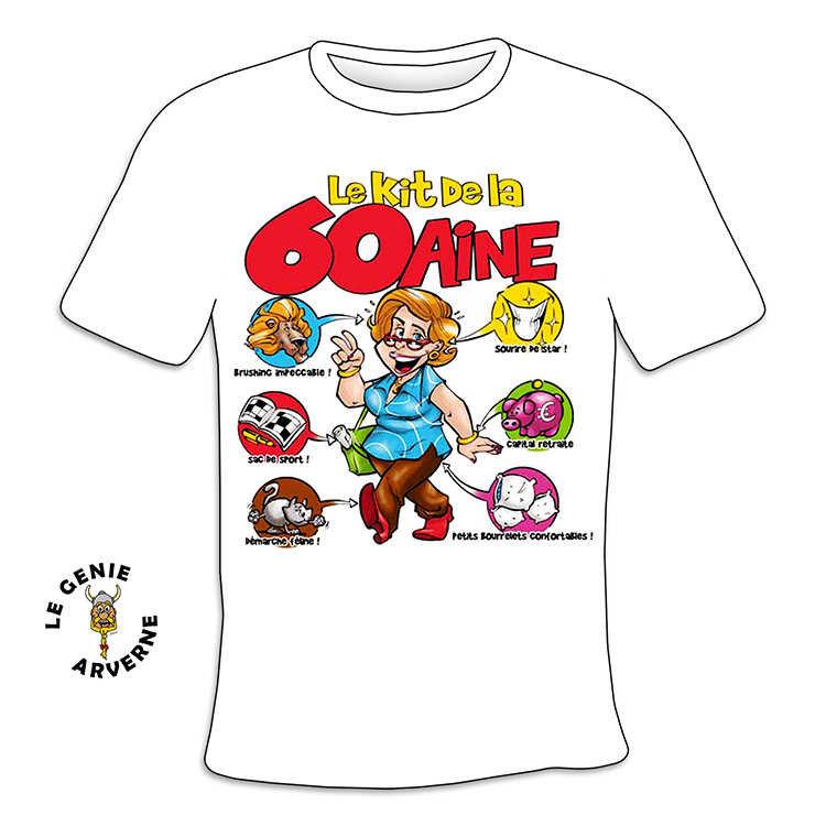 T Shirt Femme Kit 60 Aine