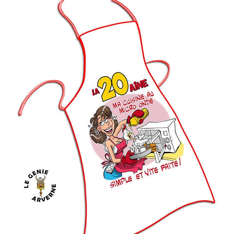 Tablier De Cuisine Femme 20 Aine