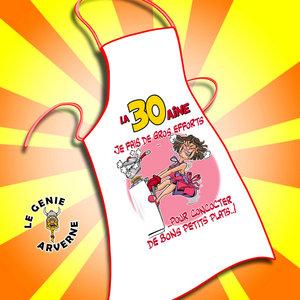 Tablier De Cuisine Femme 30 Aine