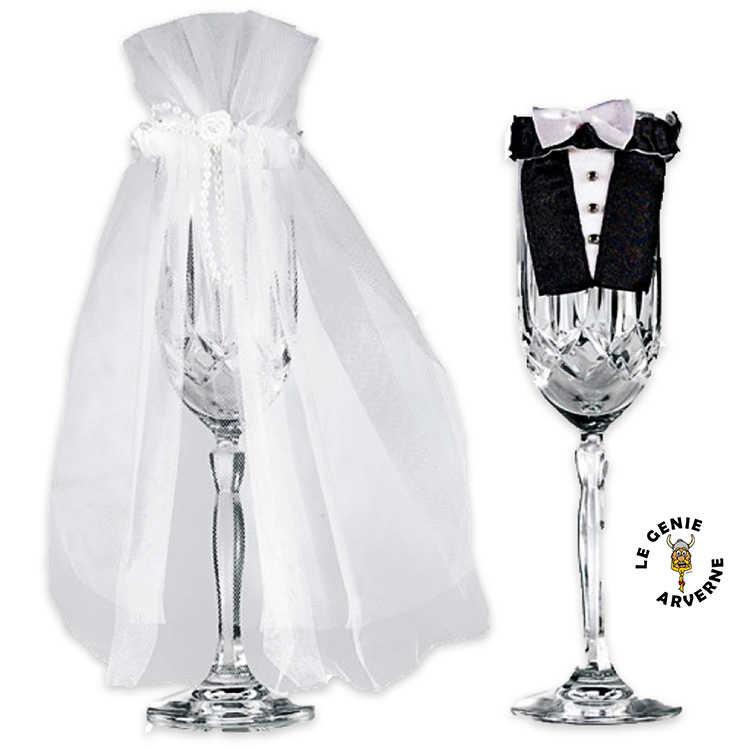 Kit d co verres mariage - Comment couper du verre sans coupe verre ...