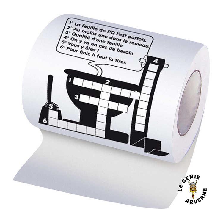 Papier wc mots crois s - Jeux de papier toilette ...