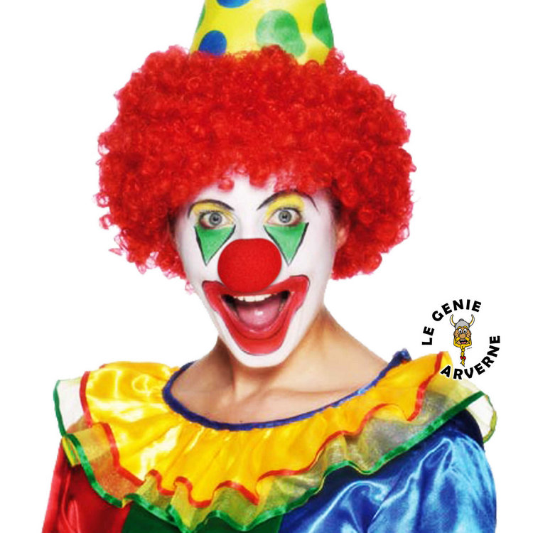 Maquillage clown rigolo - Maquillage de clown facile ...