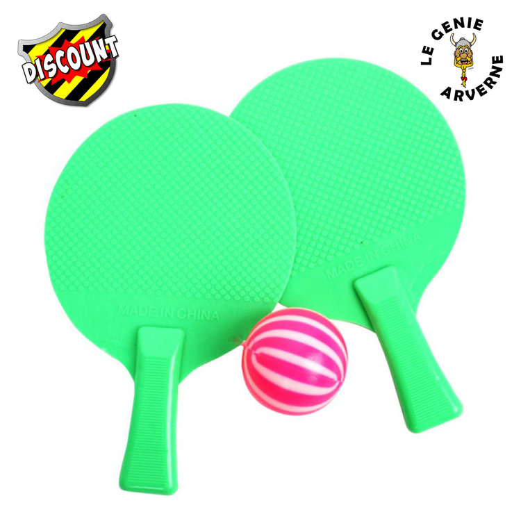 Mini jeu de ping pong 11 5 cm - Balle plastique tennis de table ...